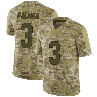 Men's Nike Arizona Cardinals Carson Palmer 2018 Salute to Service Jersey - Camo Limited