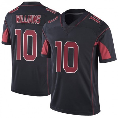 Men's Nike Arizona Cardinals Chad Williams Color Rush Vapor Untouchable Jersey - Black Limited