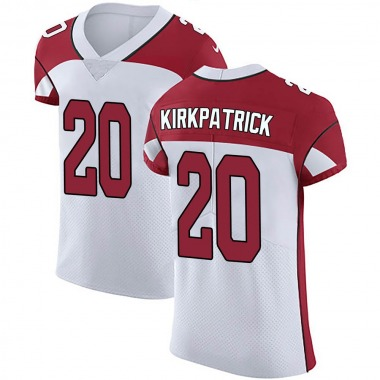 Men's Nike Arizona Cardinals Dre Kirkpatrick Vapor Untouchable Jersey - White Elite