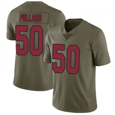 Men's Nike Arizona Cardinals Hayes Pullard 2017 Salute to Service Jersey - Green Limited