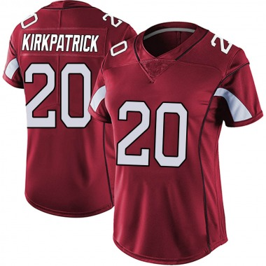Women's Nike Arizona Cardinals Dre Kirkpatrick Vapor Team Color Untouchable Jersey - Red Limited