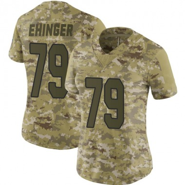 Women's Nike Arizona Cardinals Parker Ehinger 2018 Salute to Service Jersey - Camo Limited