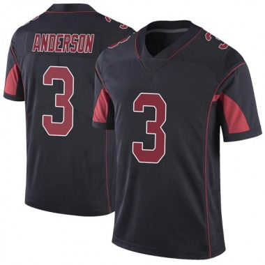 Youth Nike Arizona Cardinals Drew Anderson Color Rush Vapor Untouchable Jersey - Black Limited