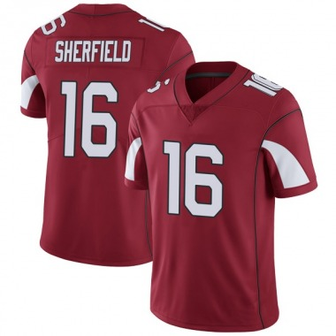 Youth Nike Arizona Cardinals Trent Sherfield Cardinal Team Color Vapor Untouchable Jersey - Limited